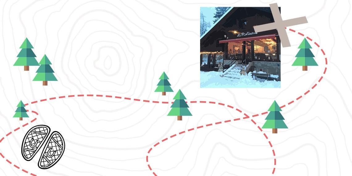 Soirée trappeur familiale à Chamonix : aidez Robinson à retrouver sa cabane !