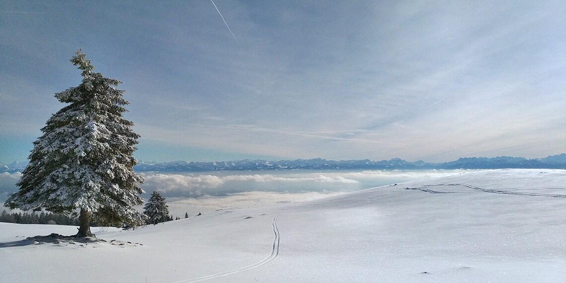 Au milieu des neiges jurassiennes