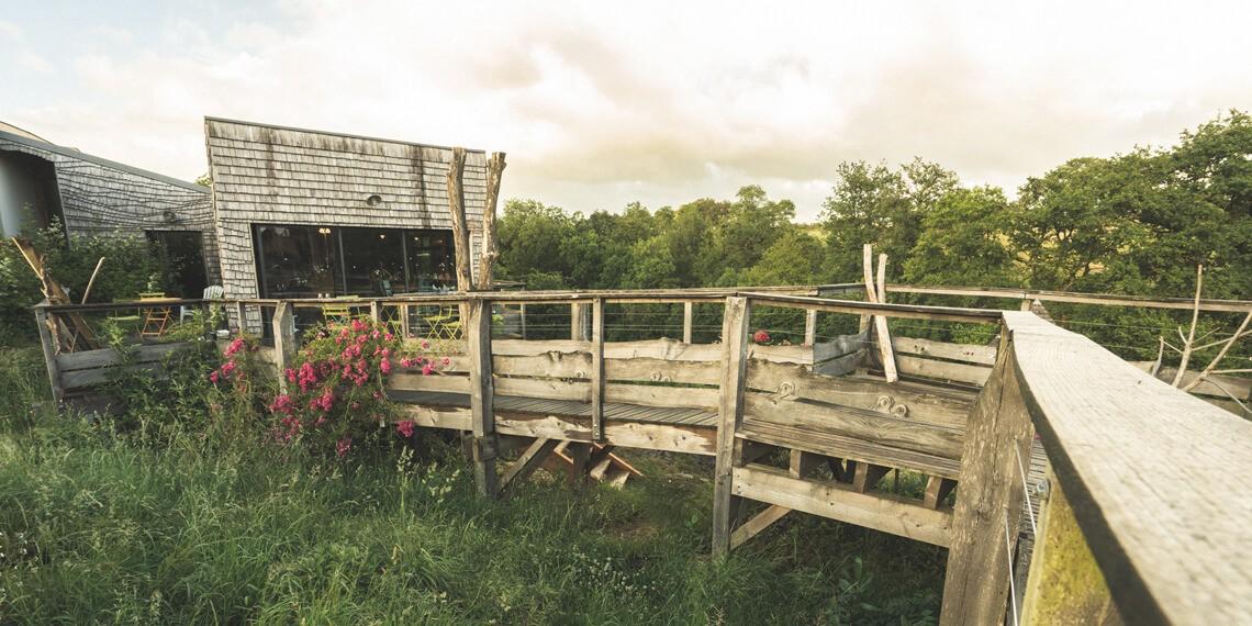oasis de lodges écologiques et insolites en vendée, labellisé Out Of Reach