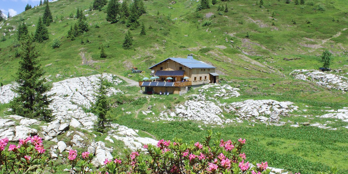 Là-haut sur la montagne : un refuge