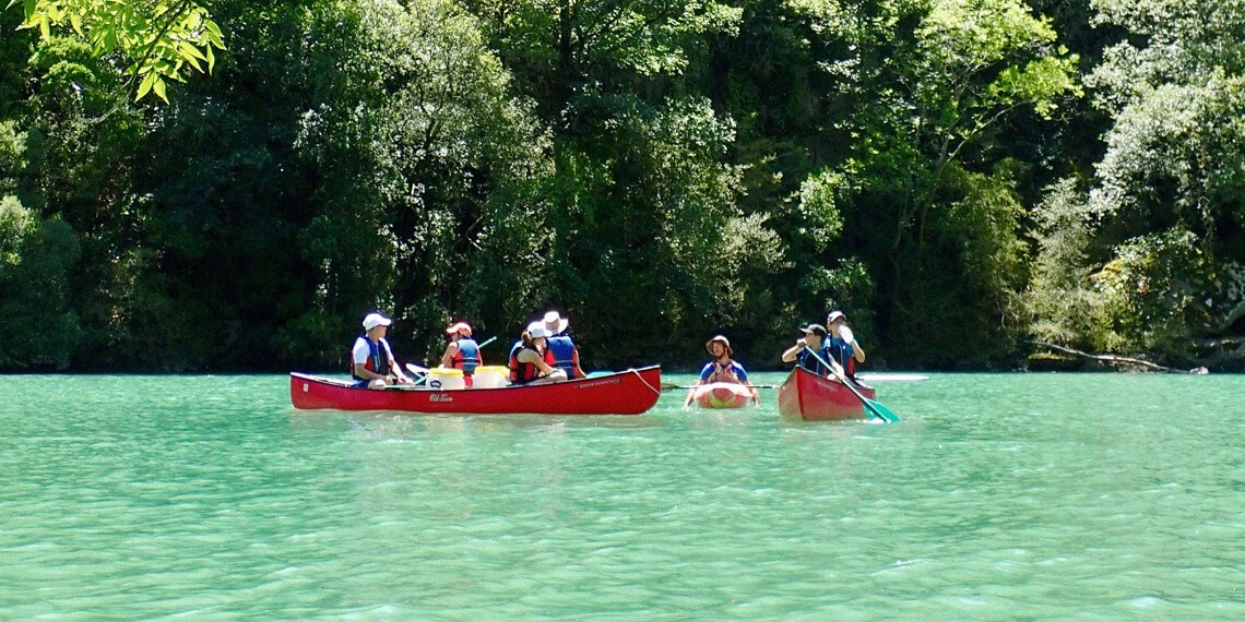 Demi-journee canoe dans le Tarn-guide labellisé Out Of Reach