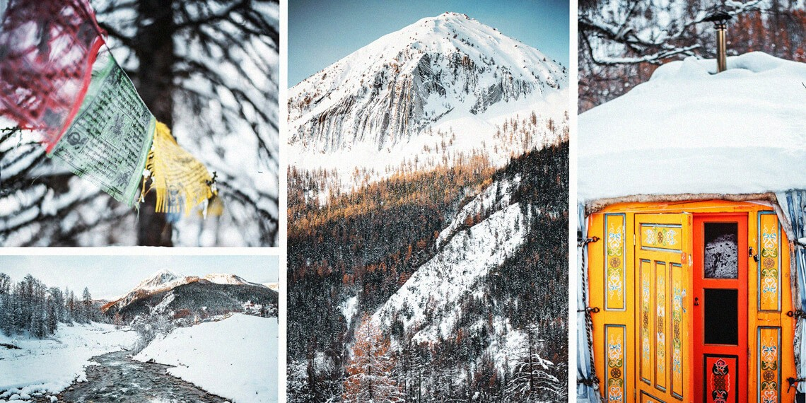 Yourtes et tonneaux - hebergements insolites en Ubaye dans les Alpes