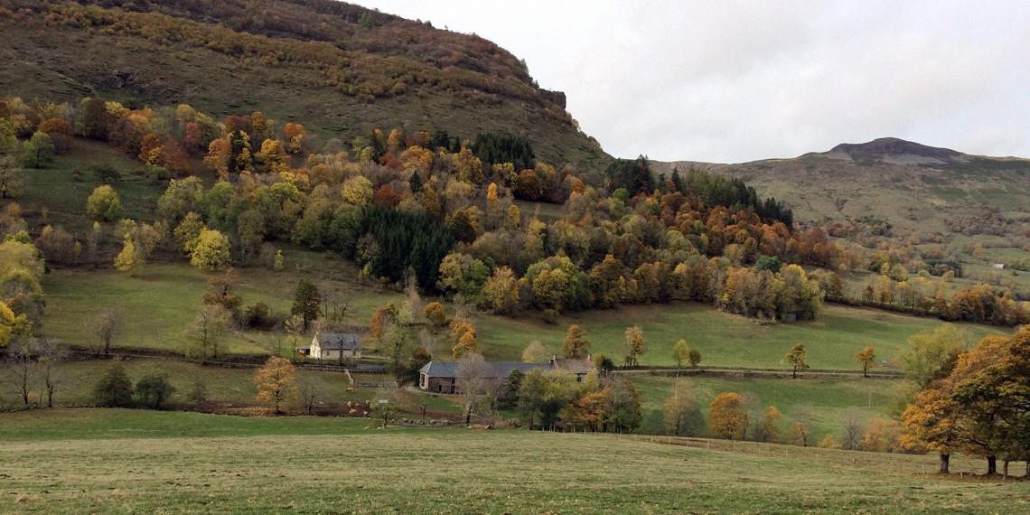 Cantal, au cœur du Volcan dans un gîte-auberge historique labellisé Out Of Reach