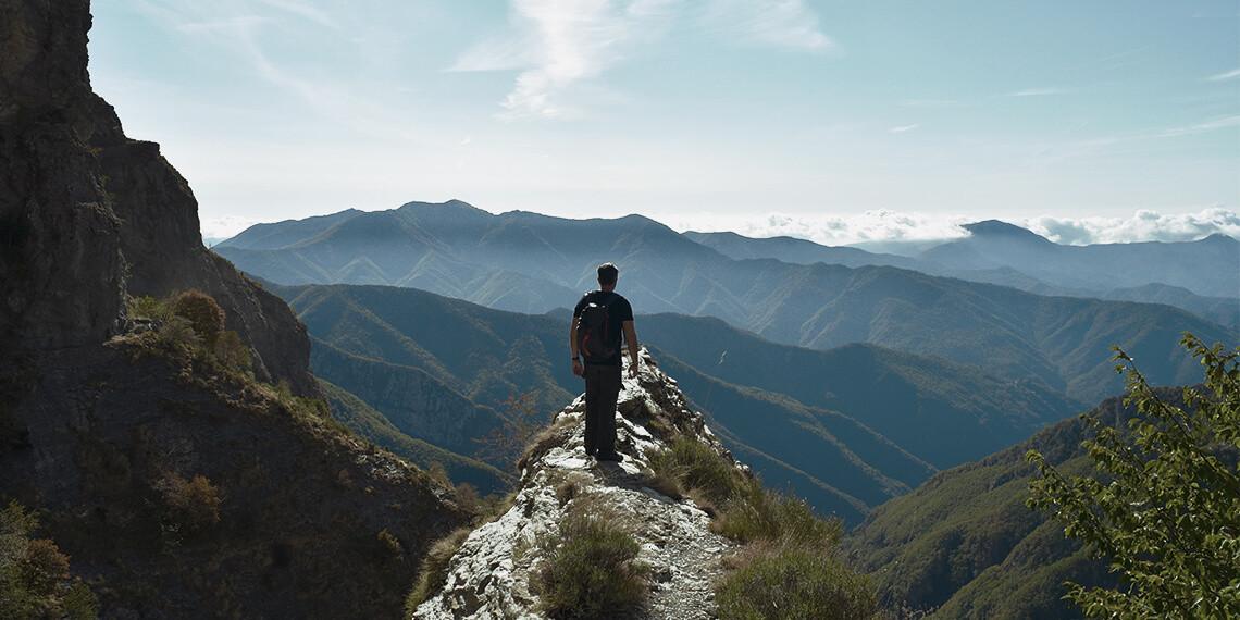 Trek déconnecté en Ligurie, avec Out Of Reach