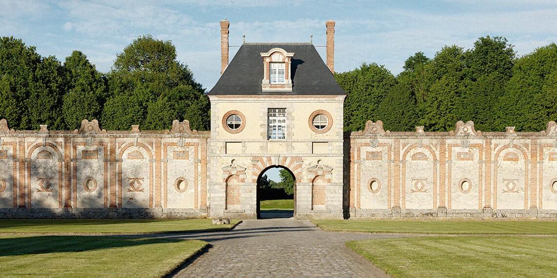 Poterne château Seine et Marne