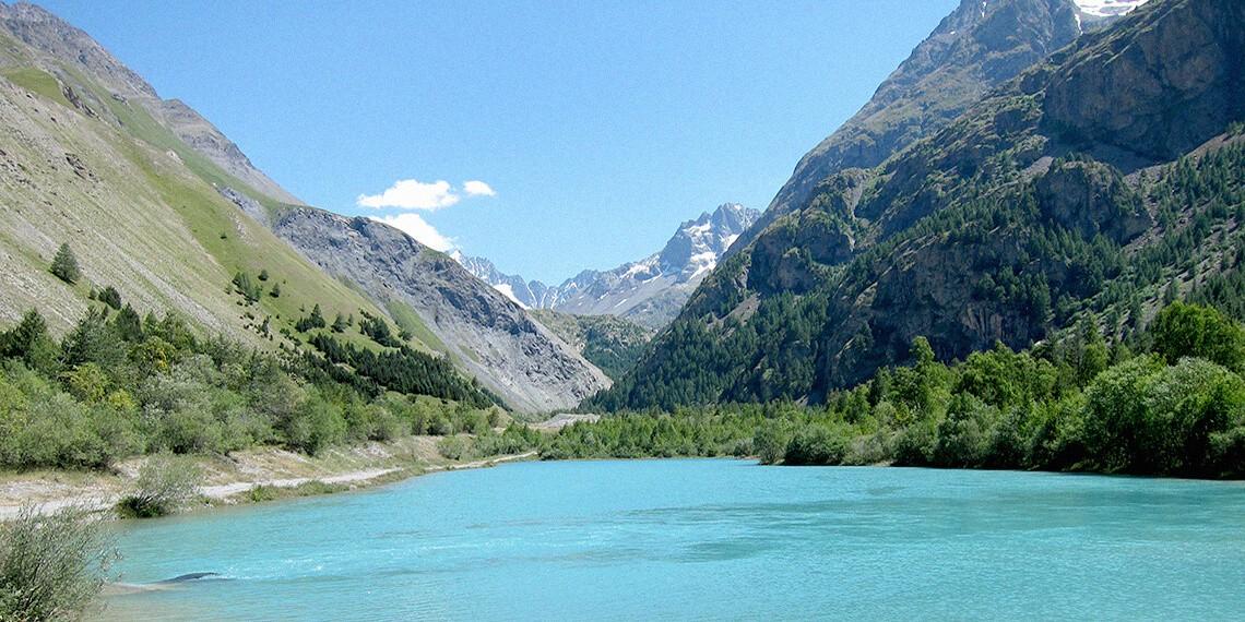 Lac Massif des Ecrins Alpes séjour itinérant