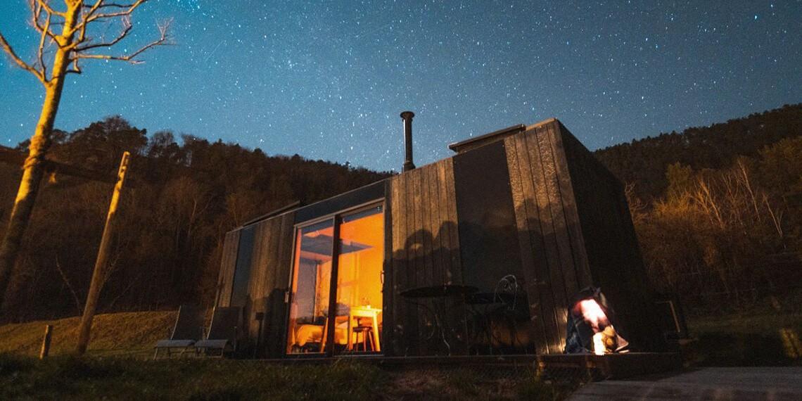 Ecolodge vosges nuit étoilée