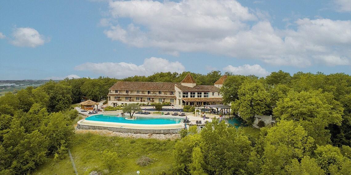 Hotel Colline Quercy Piscine