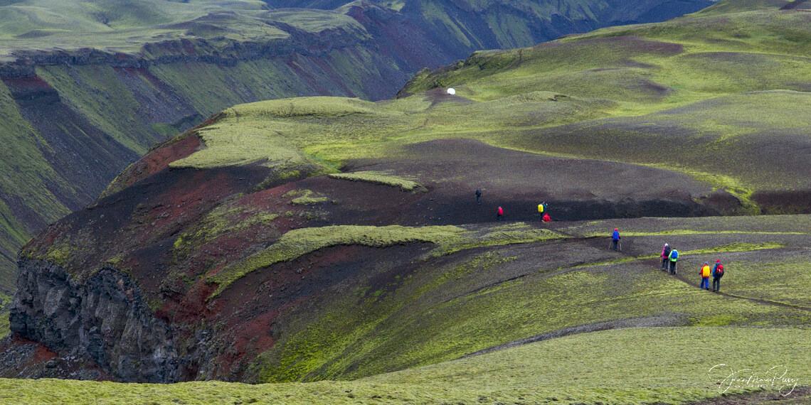Trek initiatique entre failles et volcans