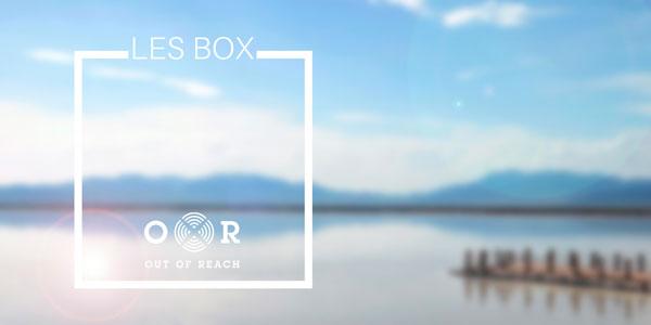 Des box-cadeaux, sélections d'évasions pour dé-connecter 24h ou + Les premières box qui débranchent du quotidien et des écrans.