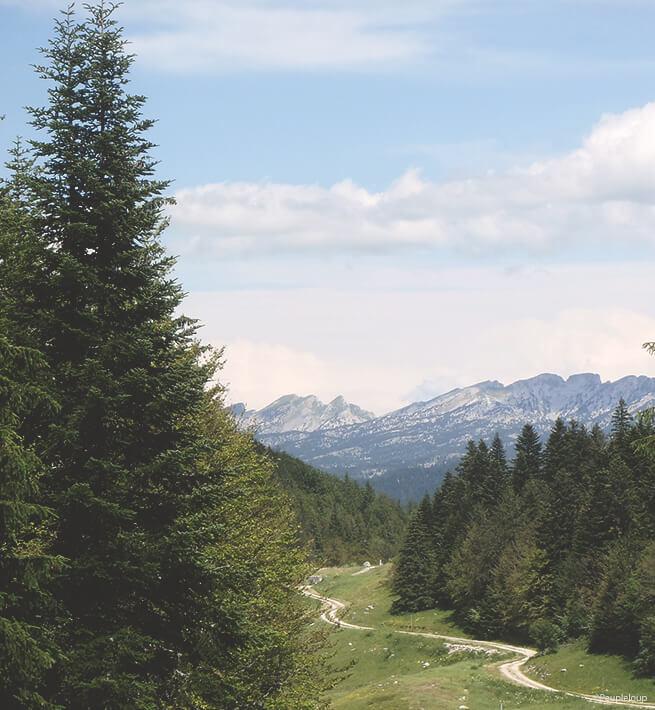 Vue montagne, la déconnexion