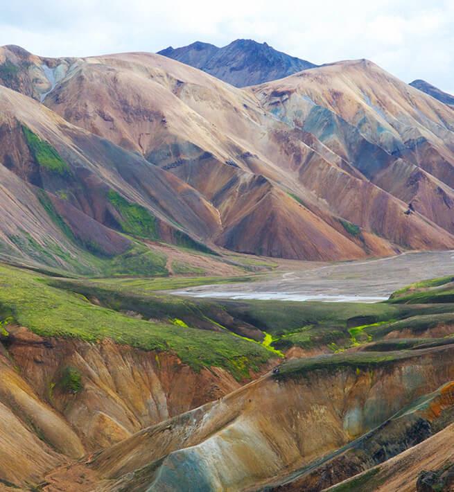 Digital detox dans les montagnes islandaises