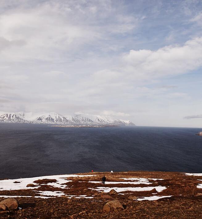 Déconnexion dans les paysages islandais