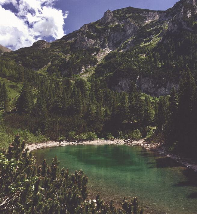 Entre lacs et montagnes, la déco