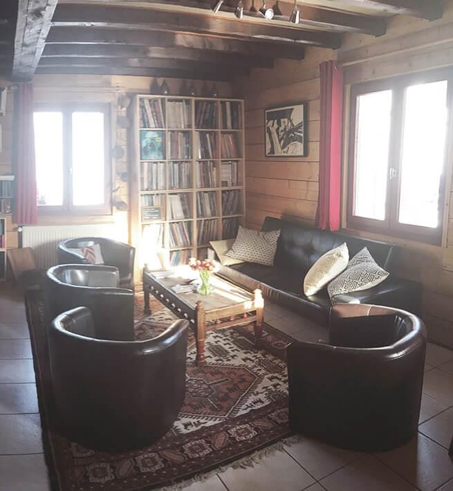Salon cosy pour se déconnecter