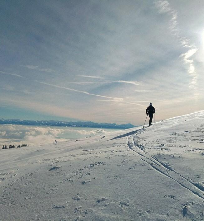 Au milieu des neiges jurassiennes - 1