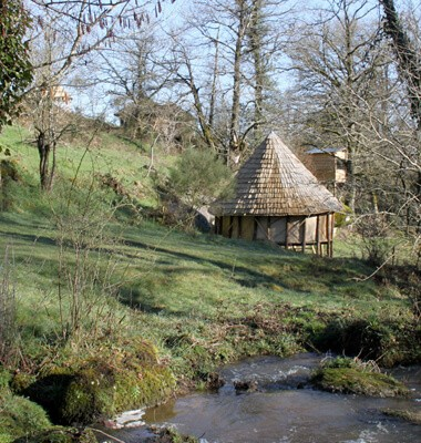 Cabane insolite et écologique en Vendée, labellisée Out Of Reach