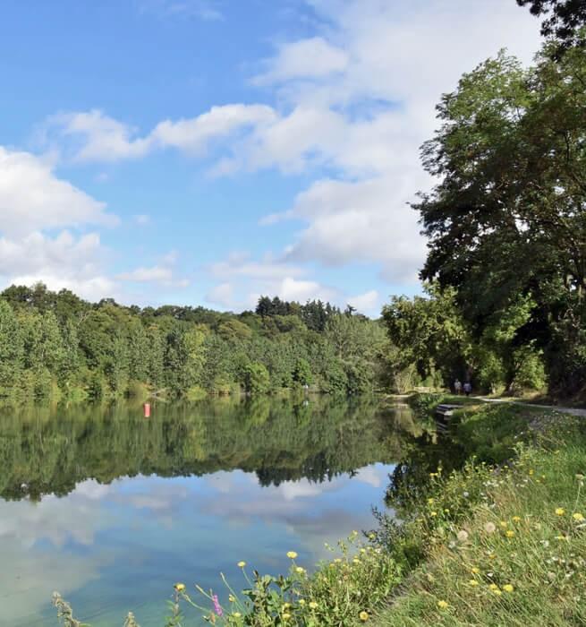 Maison éclusière sur la Mayenne, les pieds dans l'eau - 2