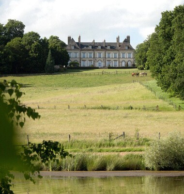 Château Allier séjour