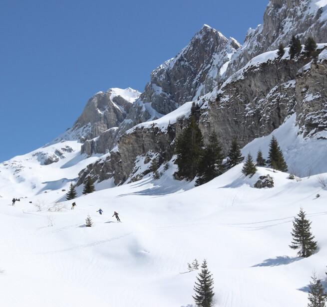 Un refuge de montagne comme camp de base - 1