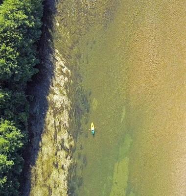 Kayak bivouac dans le Tarn, labellisé Out Of Reach