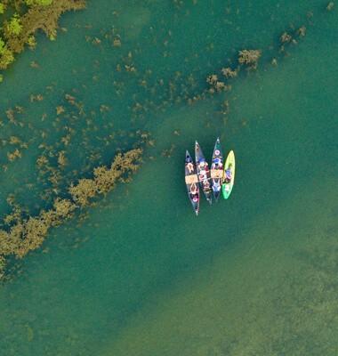 Descente en Kayak et bivouac sur le Tarn, labellisé Out Of Reach
