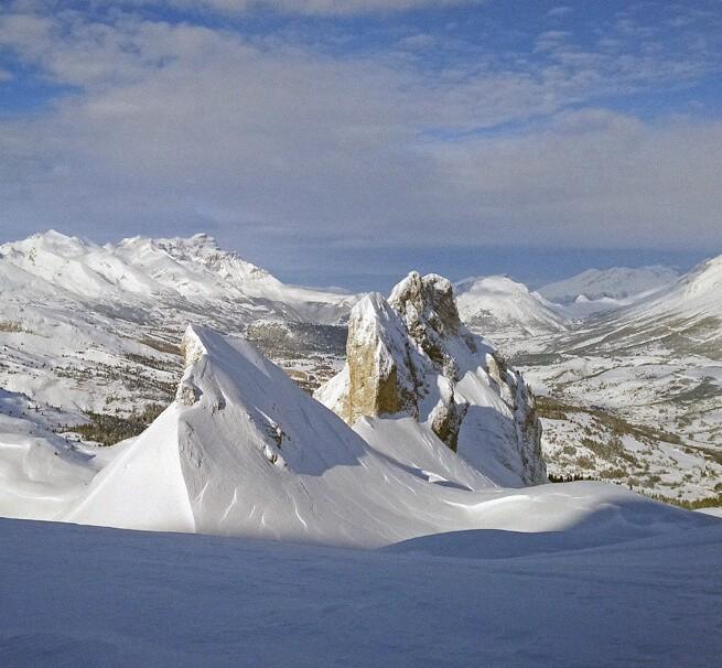En ski de rando sur le manteau blanc des Hautes-Alpes - 1