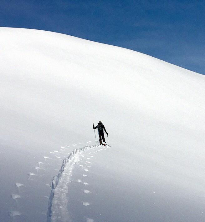 En ski de rando sur le manteau blanc des Hautes-Alpes - 2