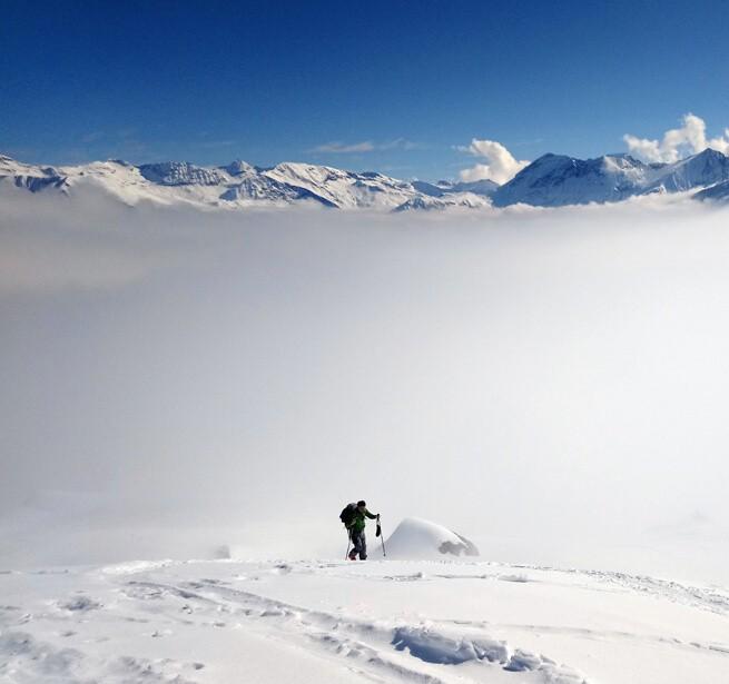 En ski de rando sur le manteau blanc des Hautes-Alpes - 3