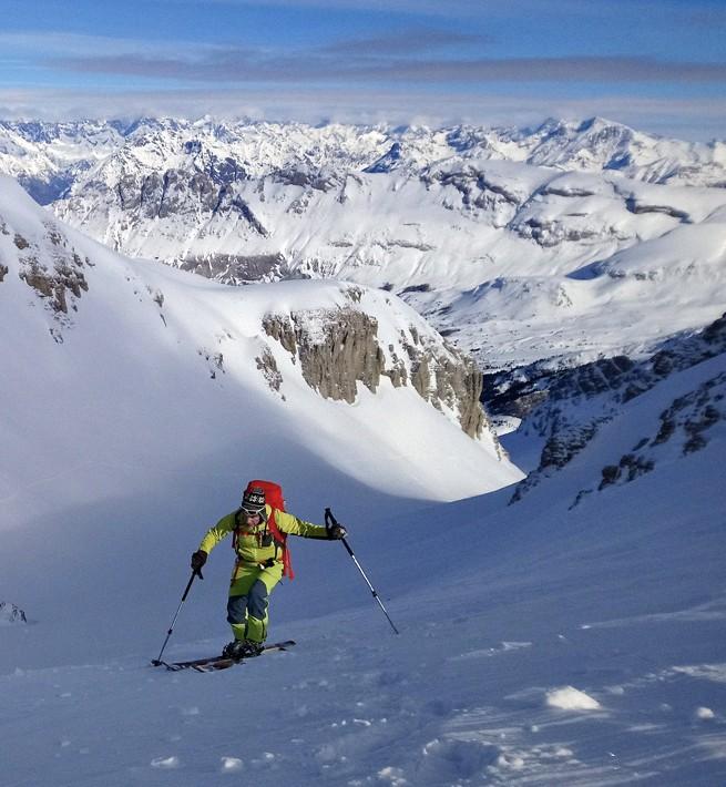 En ski de rando sur les massifs méconnus des Hautes-Alpes - 1