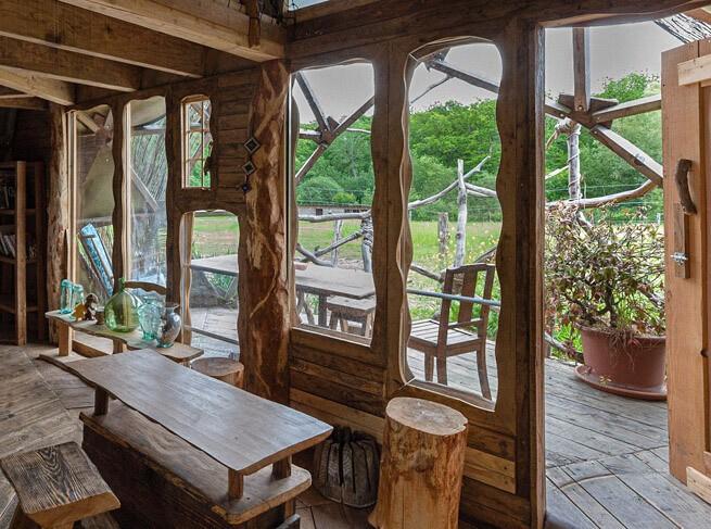 Cabanes fantastiques en pleine forêt vosgienne - 1