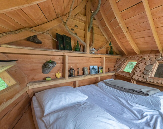 Une cabane magique pour un retour en enfance et à la nature - 1