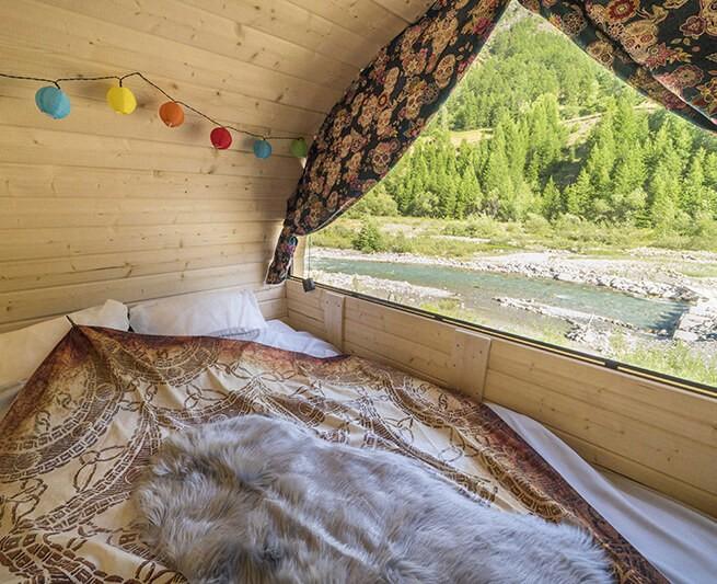Dormir dans un Tonneau dans la V