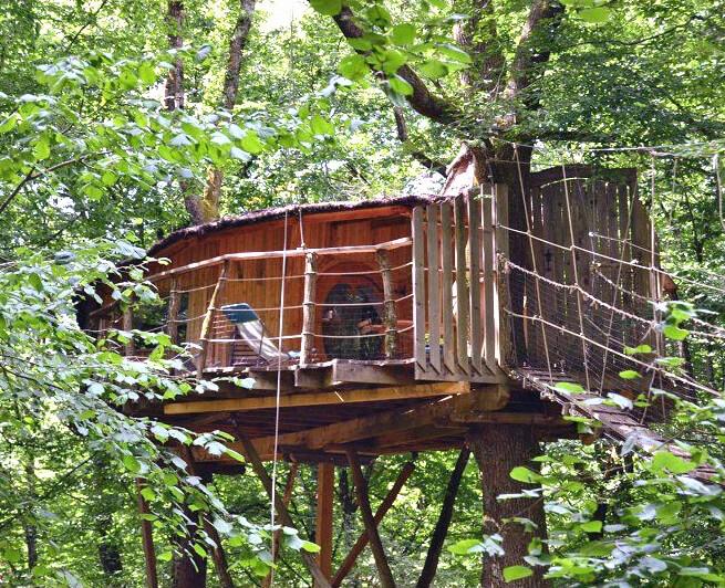 Cabanes dans les arbres - héberg