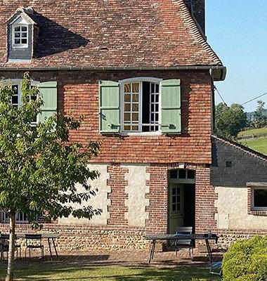 Maison normande restaurée