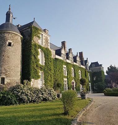 Château situé dans le Pays de la