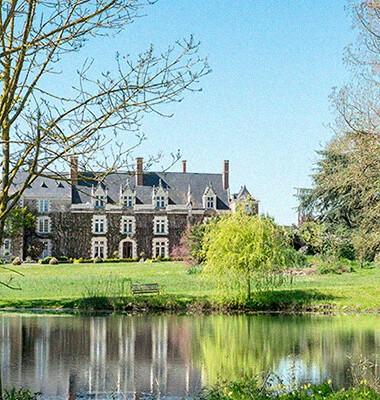 Jardins d'un château Anjou