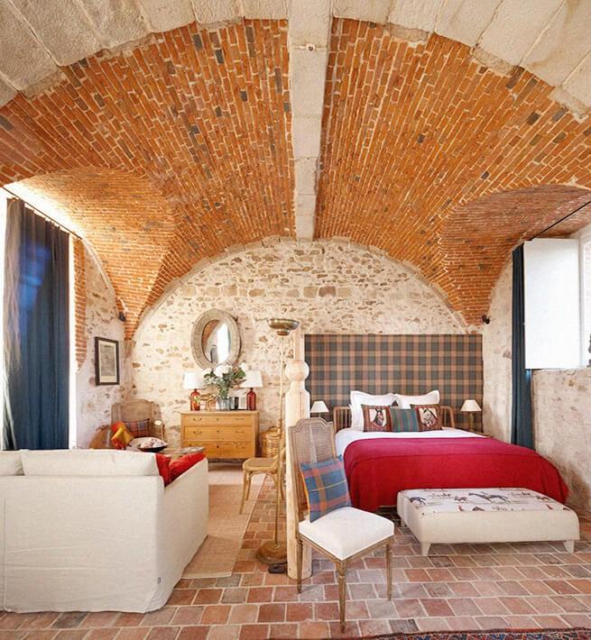 Chambre écurie château