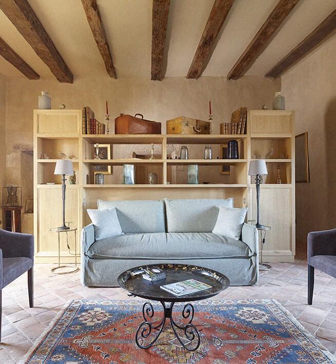 Salon château Limousin