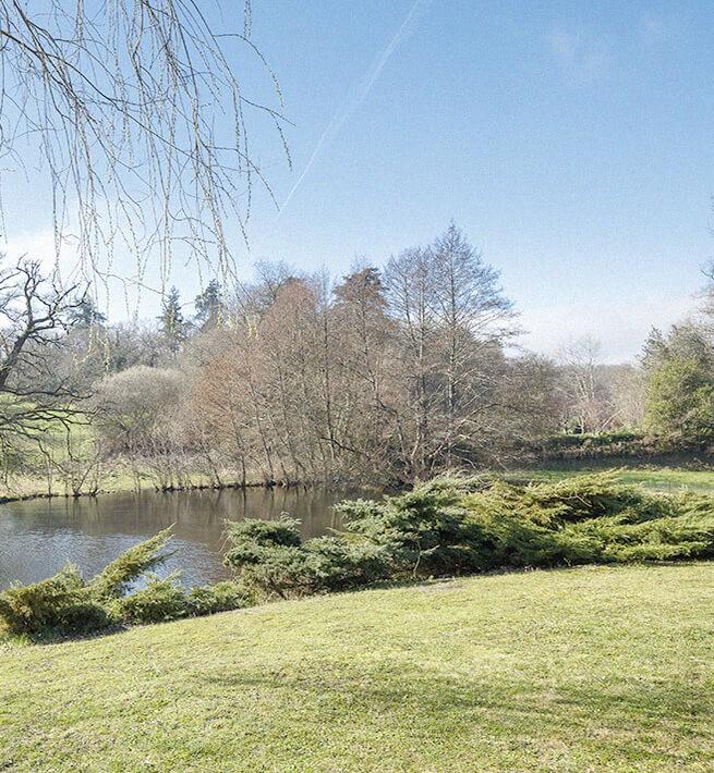 Jardin château Limousin