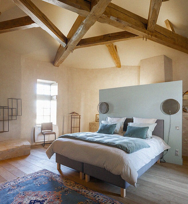 Chambre château Limousin
