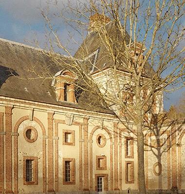 vue façade château