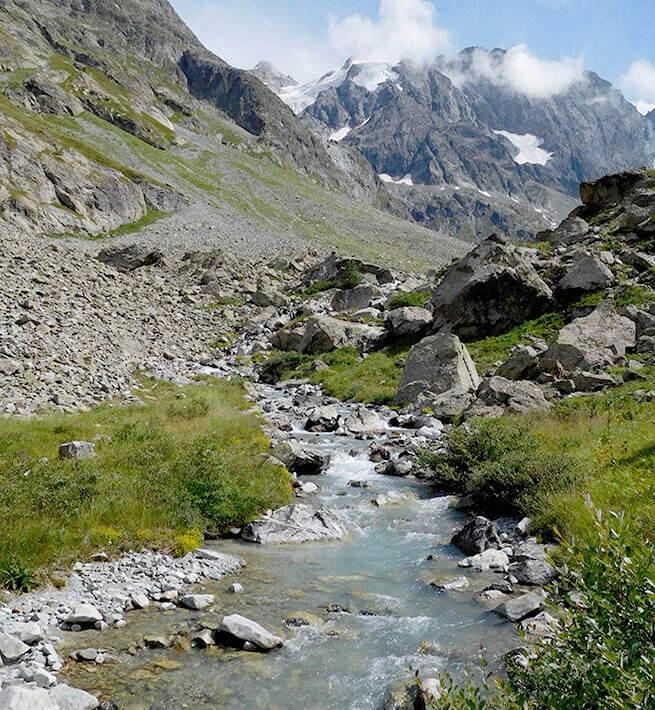 Ruisseau Massif des Ecrins