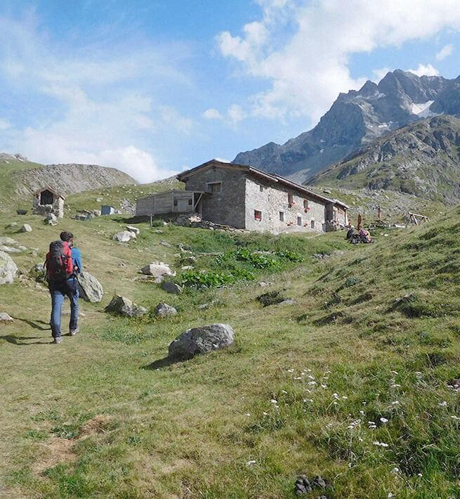 refuge Alpes randonnée