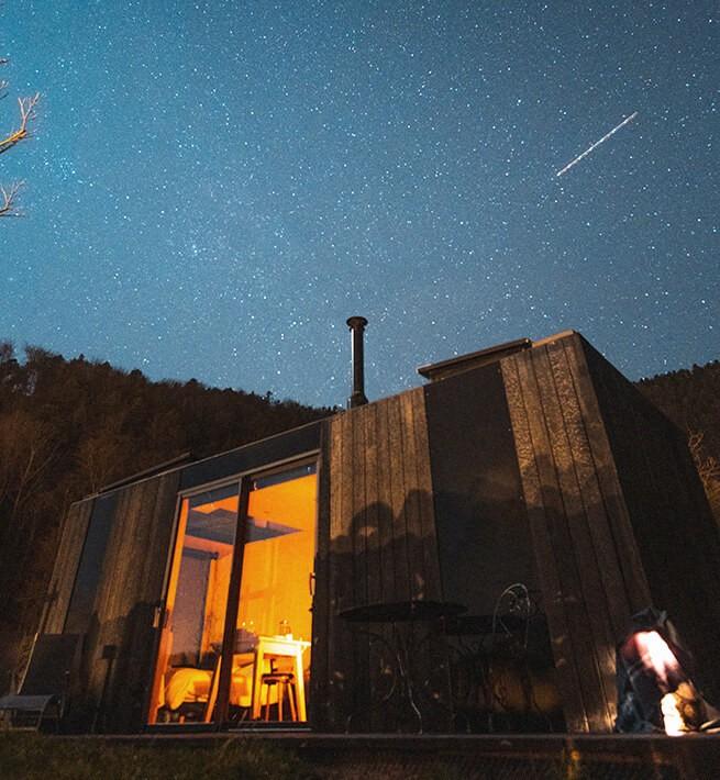 Ecolodge Vosges de nuit