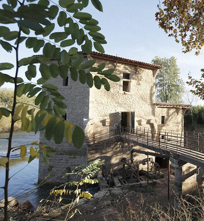 Extérieur moulin Hérault