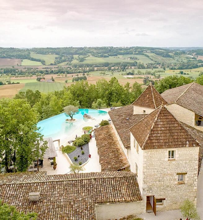 Panorama Hotel Quercy Piscine
